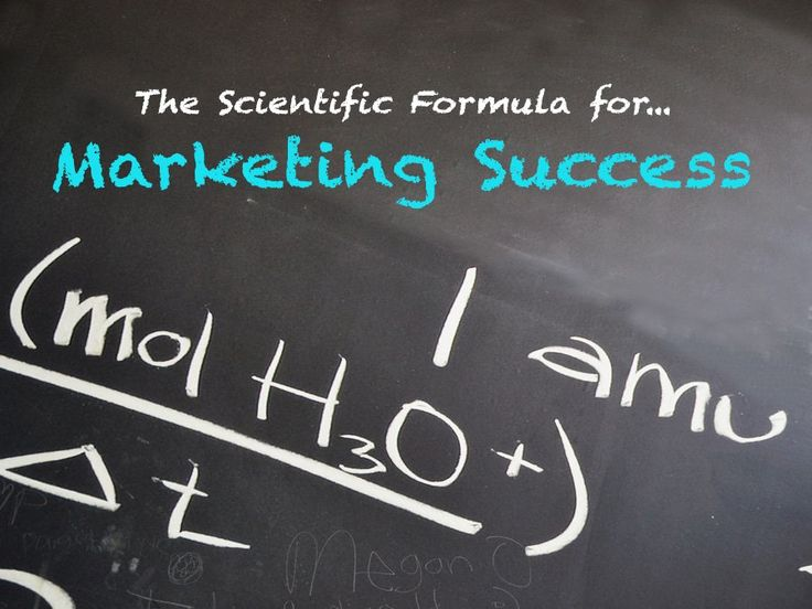 Revealed: The Scientific Formula For Marketing Success