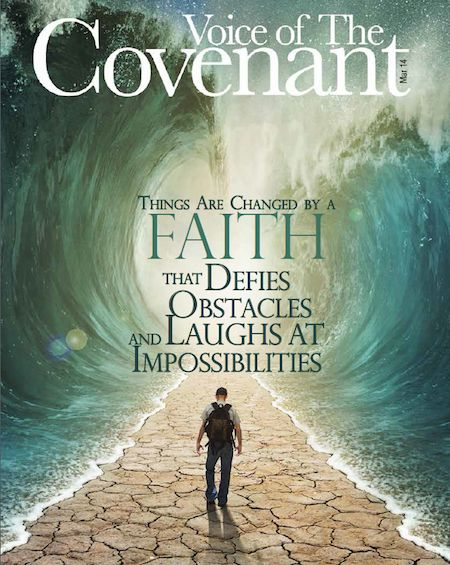Jesse Duplantis Ministries ~ March issue of the Voice of the Covenant magazine is out!