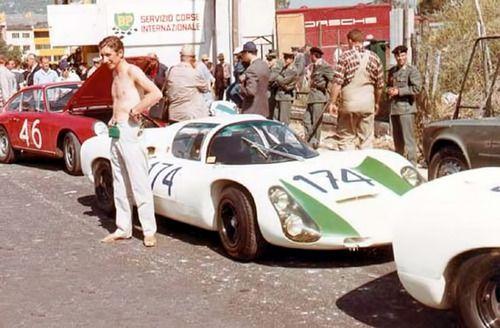 Jo Siffert , Porsche 910. Targa Florio 1967