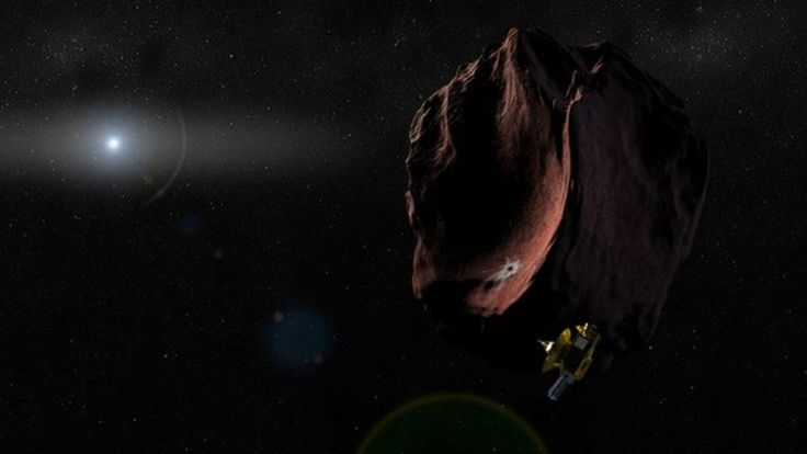 Nasa's New Horizons spacecraft has a new target to aim for following its historic flyby of Pluto. It is called 2014 MU69, and was one of two comet-like objects that were under consideration by scientists working on the mission. The US space agency will now carry out a review of the plan before officially approving the mission's extension.