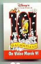 Disney's 101 Dalmatians Cast Member Only Promo Pin