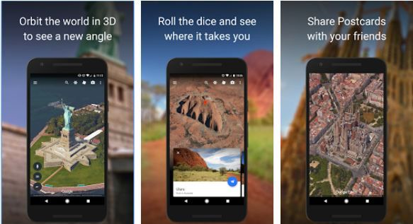 Download 3d Google Earth Mobile App For Samsung Galaxy S7 Edge S8 Plus App Mobile App Best Apps