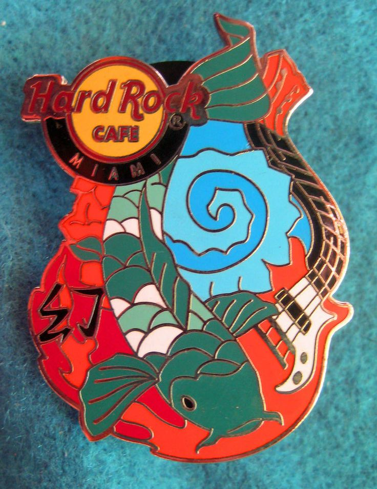 336 best hard rock cafe pins images on pinterest for Koi fish guitar