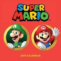 Super Mario Bros. 2015 Wall Calendar | Gaming | at Mighty Ape NZ