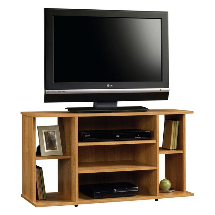 Sauder Beginnings TV Stand - Highland Oak - 412995