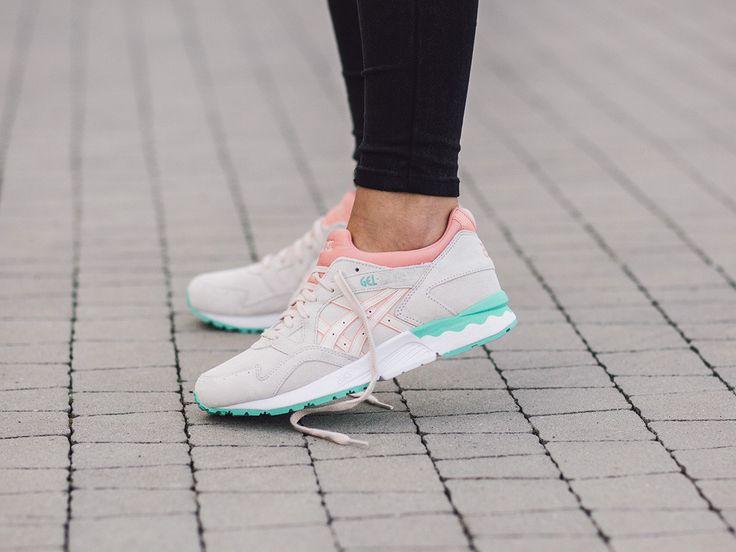 Damen Schuhe sneakers Asics Gel Lyte V H6R9L 2121