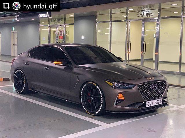 Korean Car Blog On Instagram Repostplus Hyundai Qtf Hyundai Genesis G7 In 2020 Hyundai Genesis Hyundai Hyundai Cars