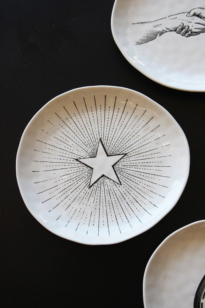 Handmade Ceramic Plate - Star - View All - Home Accessories