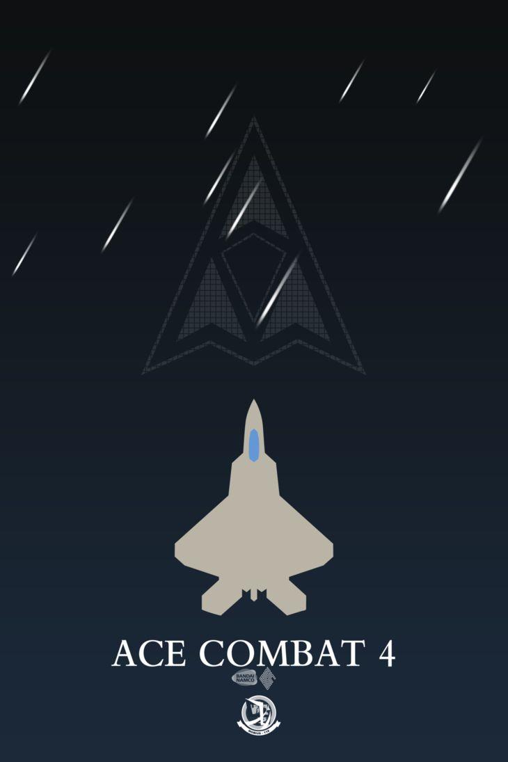 Ace Combat 4 minimalist poster by anarchemitis