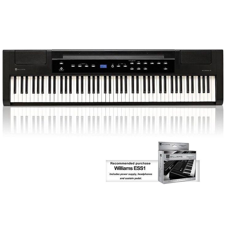 Williams Allegro 2 88-Key Hammer Action Digital Piano LN