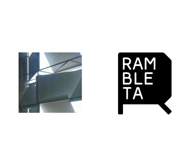 by Canya. Diseno de identidad corporativa  La Rambleta. Logotipo