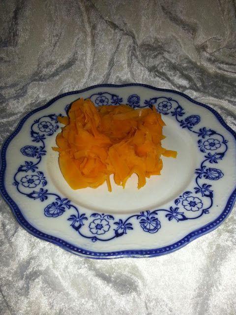MollyRose'n'Honey: Gulerodstilbehør- og forret