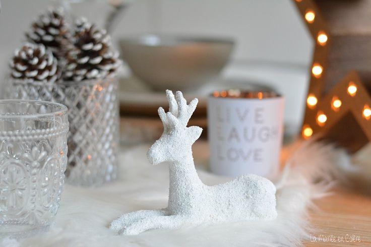 DIY Noël : les figurines animaux enneigés - La Mariée en Colère Blog Mariage, grossesse, voyage de noces