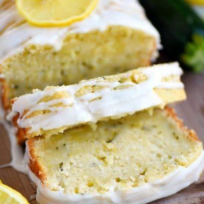 Lemon Zucchini Cake - Mom On Timeout