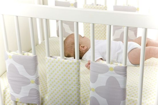 crib bumper alternative idea | Kid Stuff | Pinterest ...