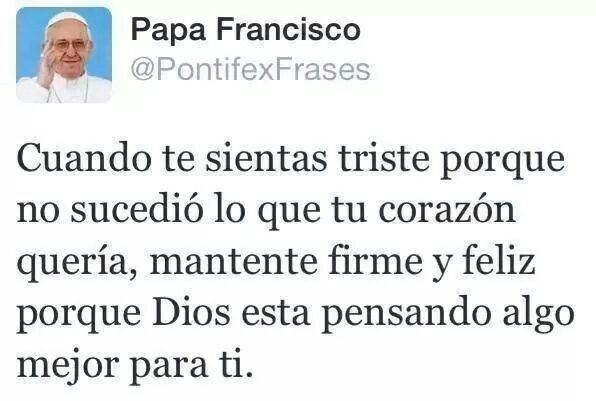Las mejores frases del Papa Francisco.