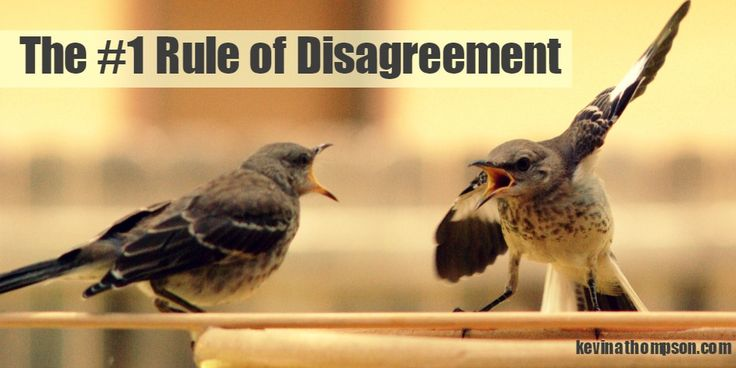 The+Number+One+Rule+of+Disagreement