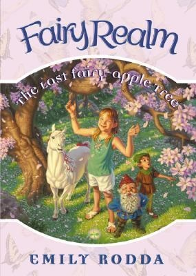 Squidge's Favorite Books: Rodda, Emily. The Last Fairy Apple Tree (2003) J FICTION/ROD  Jessie's had amazing adventures in the magical Realm. She's flown with the flower fairies and swum with the mermaids! Now Jessie's grandmother senses something wrong in the Realm. The gnomes that grow the fairy-apple trees in the Hidden Valley are in trouble, and not even the Queen can help them! Jessie and her friends must travel to the Hidden Valley to find out what's wrong and help the gnomes.