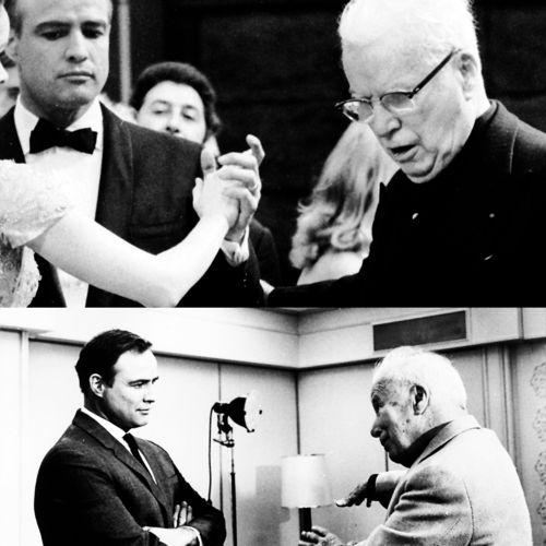 Marlon Brando and Charlie Chaplin - The Countess From Hong King #Brando