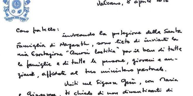 Papa Francesco – Amoris laetitia: Esortazione Apostolica Postsinodale sull'amore nella famiglia