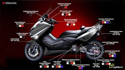 Yamaha T-Max 530 Made By Lightech