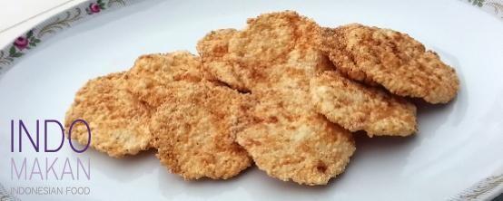 Kroepoek Nasi Ebi - Rice crackers with dried shrimp