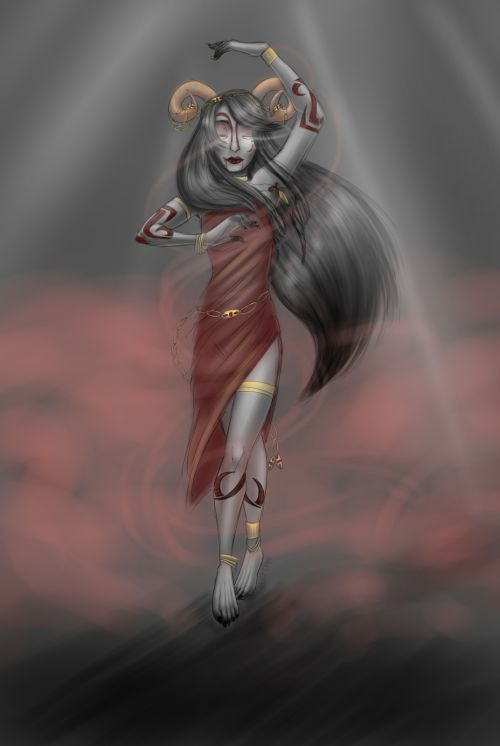 quixoticrypt:   [x][speedpaint]  pagan deity aradia or druid aradia or something?? shrug i have a passion for aradia and her hair that no one will ever understand
