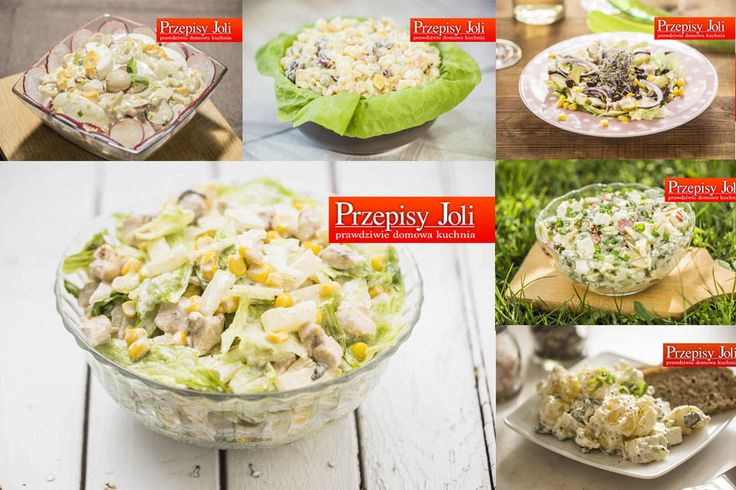 SAŁATKI NA GRILLA - NAJLEPSZE PRZEPISY - wypróbowane, najsmaczniejsze, proste i szybkie sałatki na grilla. Idealne dodatki do grillowanych potraw.