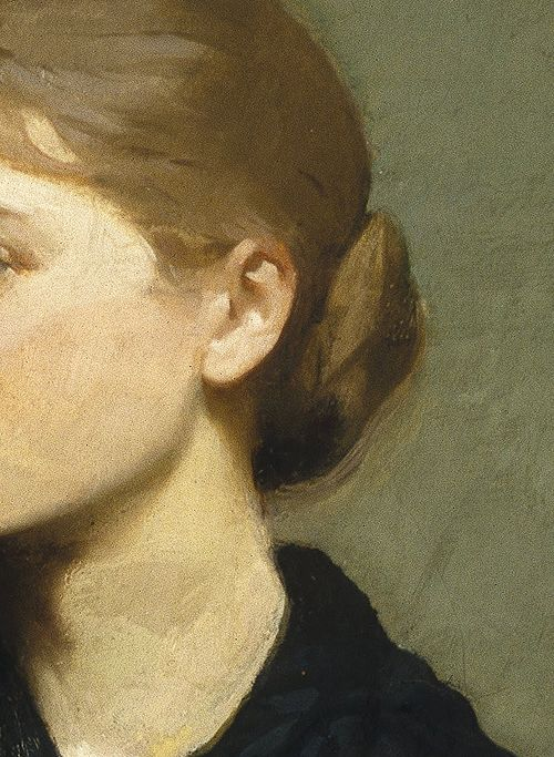 The Sisters by Abbott Handerson Thayer, 1884 (detail)