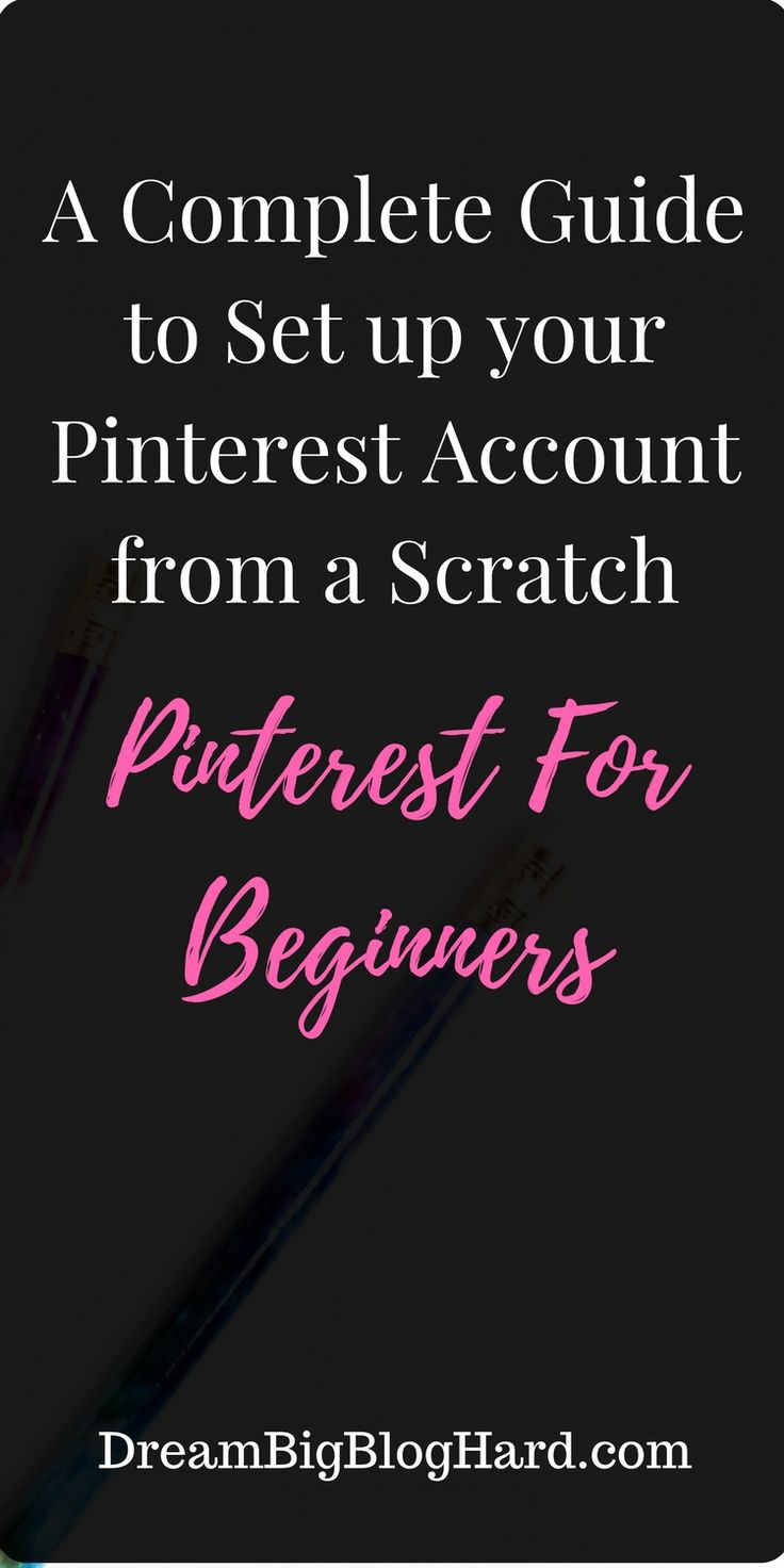 This step by step guide will help you to set up a successful pinterest account from scratch. everything you need is in the Pinterest for Beginners guide. #Pinterest, #pinterestforbeginners