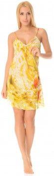 Ночная рубашка Feliciya 00022-007 S Желтая (2200000000007)