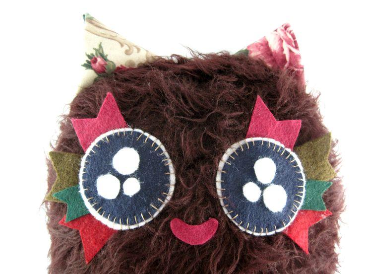 Cute Cozy Stuffed Animal Fluffy Ball Raggi!! by JazzyRaccoon on Etsy
