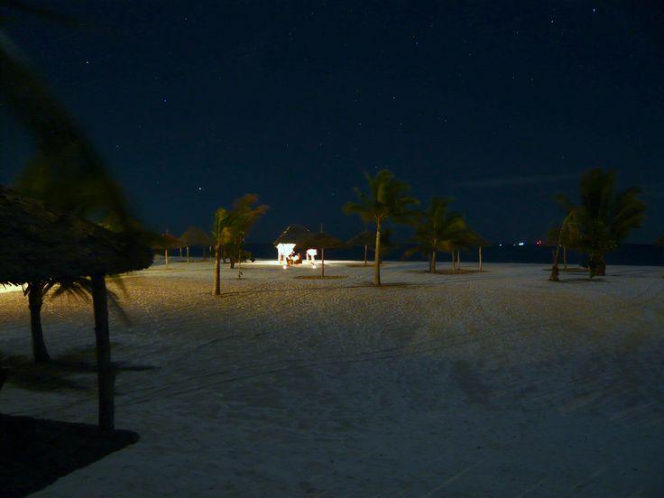 Dinner on the beach under the stars - Konokono Beach Resort Zanzibar