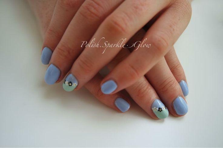 Floral pastel nails #floralnails #pastelnails #springnails #summernails