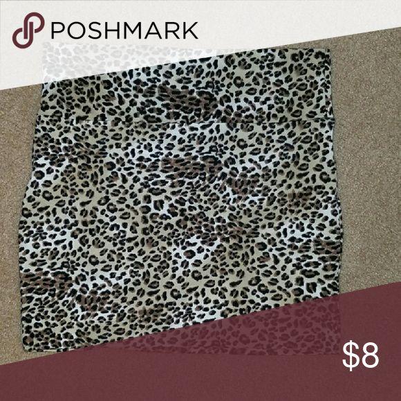 Cheetah skirt from Charlotte russe Charlotte Russe cheetah skirt Charlotte Russe Skirts Mini