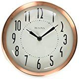 Early Bird Special: Bulova Cleaver Wall Clock Copper  List Price: $50.00  Deal Price: $19.37  You Save: $9.63 (33%)  Bulova Cleaver Wall Clock Copper  Expires Mar 6 2018
