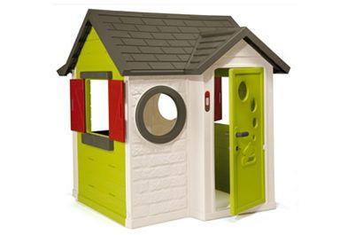 Spielhaus, »Mein Haus«, SmobyEgal bei welchem Wetter - Das Spielhaus »Mein Haus« ist ein Spielparadies für alle Kinder. Das Haus in strahlenden Farben sieht nicht nur toll aus, sondern bietet auch besonders viel Platz, auch für größere Kinder (Dachhöhe ca. 135 cm).