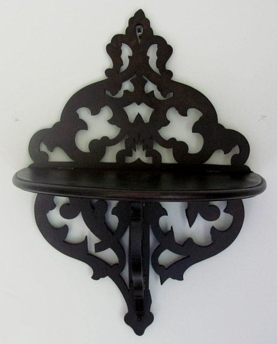 23 Ornate Wall Shelf Gothic Glam Decor