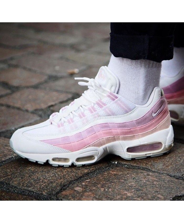 air max 95 white and pink