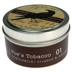 Poe's Tobacco $12Tokyomilk Candles, Apples Candles, Teas Leaves, Tins Candles, Poe Tobacco Tokyomilk, Tobacco Candles, Margot Elena, Tokyo Milk, Autumn Apples