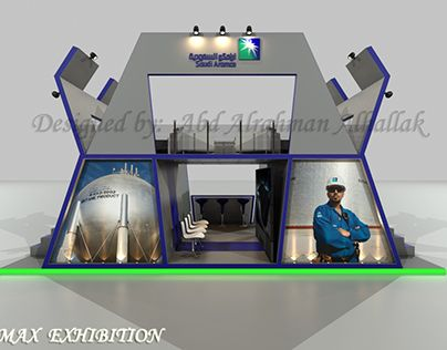 """Check out new work on my @Behance portfolio: """"Stand exhibition_for Aramco…"""