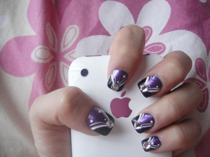 easy nail art designs for short nails