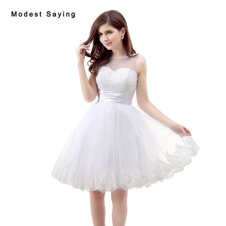 Find More Cocktail Dresses Information about 2017 New Elegant White Short Lace Cocktail Dresses with Pearls Bodice Girls Formal Ball Gown Party Prom Gowns vestidos de coctel,High Quality short lace cocktail dress,China lace cocktail dress Suppliers, Cheap cocktail dress with pearls from modest saying Lacebridal Store on Aliexpress.com