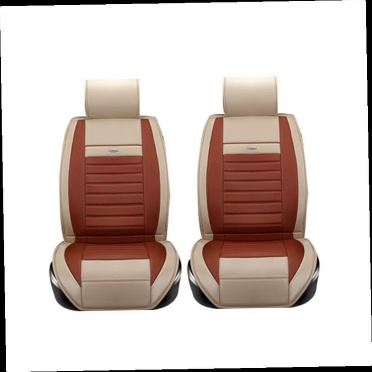 52.19$  Watch now - http://aling8.worldwells.pw/go.php?t=32720932411 - (2 Driver seats) Universal Leather car seat covers For Ford mondeo Focus Fiesta Edge Explorer Taurus S-MAX car accessories