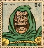 Marvel Value Stamp -- Dr. Doom
