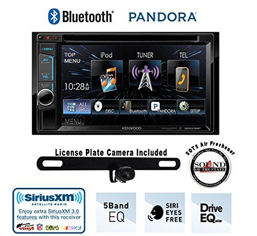 Special Offers - Kenwood DDX372BT 6.2 DVD Receiver with Built in Bluetooth License Plate Rear Backup Camera and a FREE SOTS Air Freshener - In stock & Free Shipping. You can save more money! Check It (July 24 2016 at 11:17PM) >> http://hometheatersusa.net/kenwood-ddx372bt-6-2-dvd-receiver-with-built-in-bluetooth-license-plate-rear-backup-camera-and-a-free-sots-air-freshener/