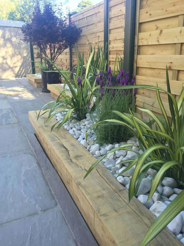 Landscaping Concepts for the Entrance Backyard – Higher Houses and Gardens #onbudget #lands…