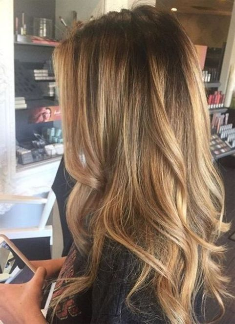 Top 14 Color Ideas for Long Hairstyles 2018 Trends | Hair | Balayage ...
