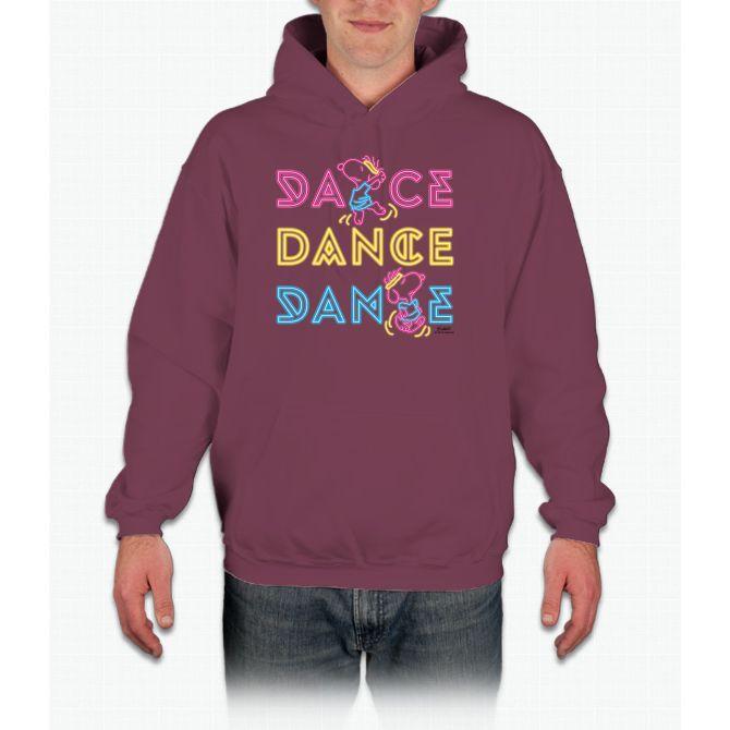 Peanuts Dance Snoopy Hooded Sweatshirt