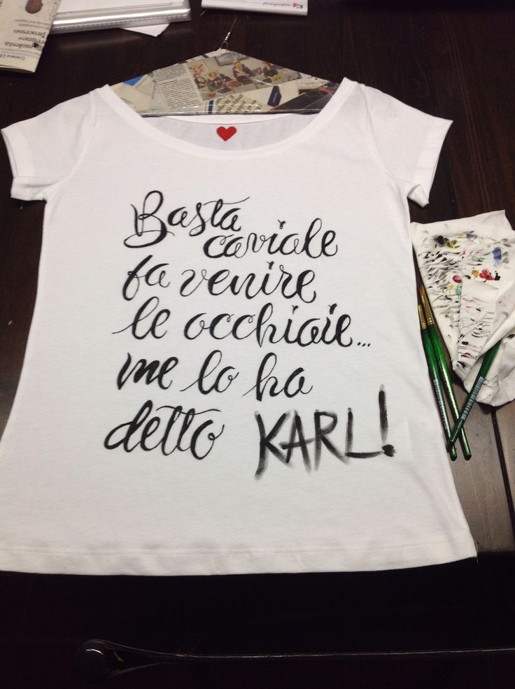 E se lo dice KARL!!!!